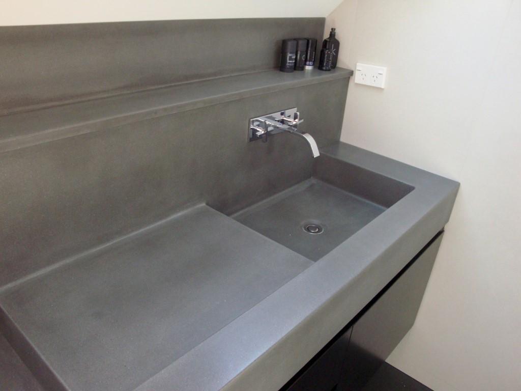 concrete bathroom sinks home design ideas | a1houston