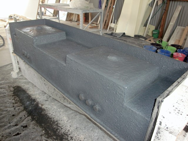 Creating Concrete Vanity (3)