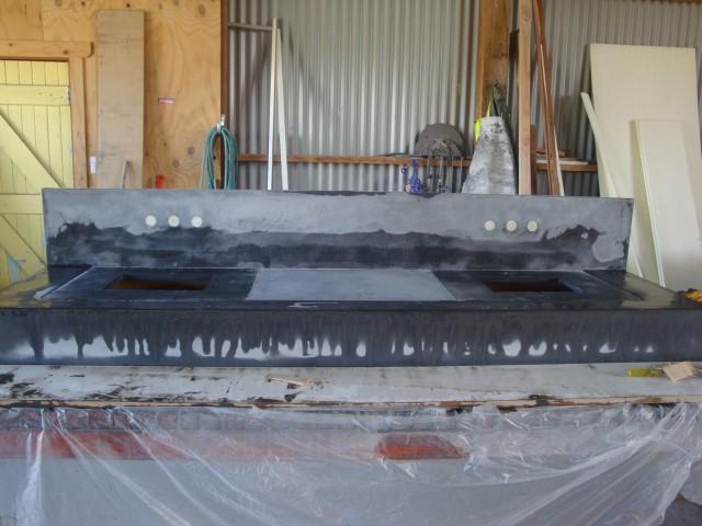 Creating Concrete Vanity (4)