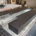 Exposed aggregate hearths