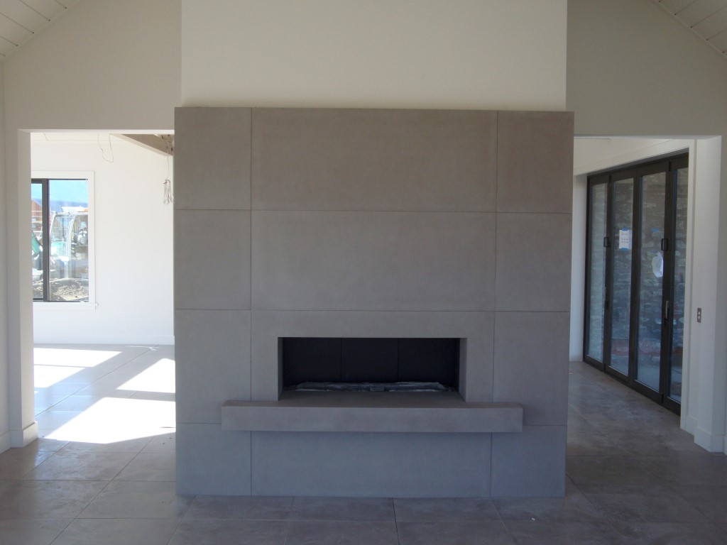 Concrete Hearths and Fire Surrounds | Flowing Stone