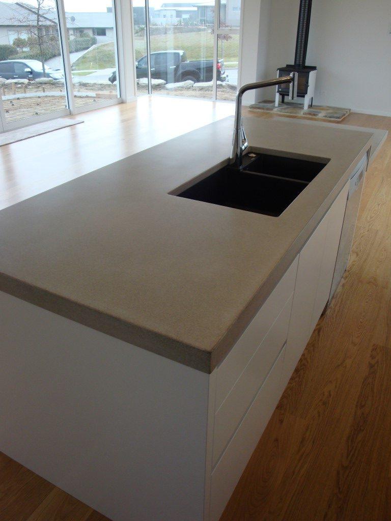 Concrete Kitchen Bench