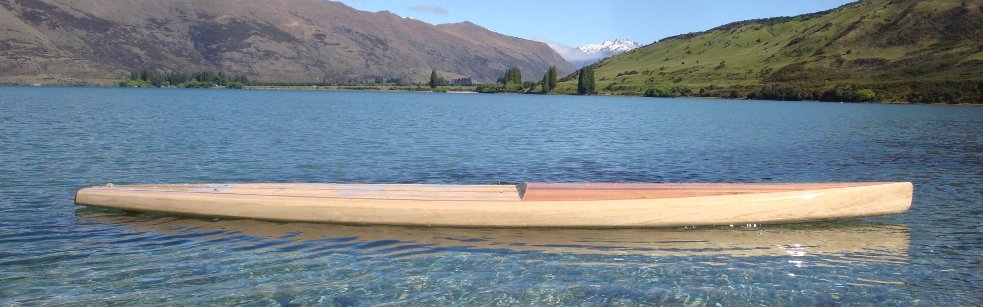 Custom Made Wooden Paddleboard